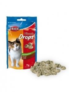 Trixie Vitamin drops - Лакомство за котки с вкус на риба и мента 75 гр.