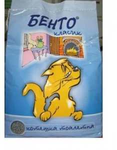 Бенто - бентонитова котешка тоалетна - 5кг.