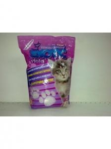 Exotic Violet- силиконова котешка тоалетна с аромат на лавандула, 3.8 л.