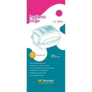 Ferplast Hygienic bags FPI 5365 - торбички за котешка тоалетна Genica, 10 броя 1
