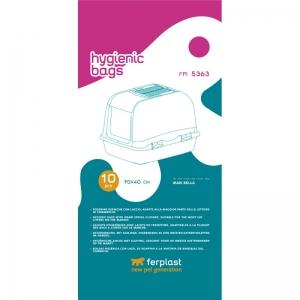 Ferplast Hygienic bags FPI 5363 - торбички за тоалетни модели: Maxi Bella, 10 броя 1