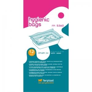 Ferplast Hygienic bags FPI 5360 - торбички за тоалетни- модели: Kitty, 37 / 29 cm 1