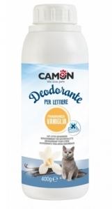 Camon Дезодорант - спрей за котешка тоалетна с ензими и аромат на ванилия