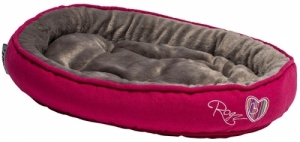 Rogz Trendy Podz легло за котки - розово, малко