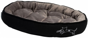 Rogz Trendy Podz легло за котки - черно, голямо