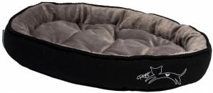 Rogz Trendy Podz легло за котки - черно, малко