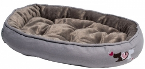 Rogz Trendy Podz легло за котки - сиво, малко
