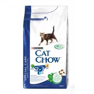 Purina Cat Chow Special Care 3in1 - суха храна за котки 3 в 1, 1.5 кг.