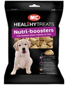 Mark & Chappell Nutri-Booster Treats for Puppies - за здрави и силни зъби и кости 50 грама
