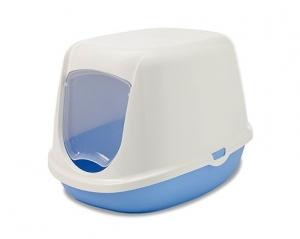 Savic Закрита тоалетна за малки котенца Duchesse, синя 1