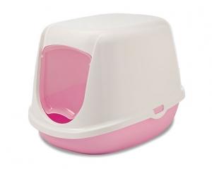 Savic Закрита тоалетна за малки котенца Duchesse, розова 1