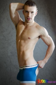 Air Jock Pro Boxer Show-it Technology Teal Color by Andrew Christian 1
