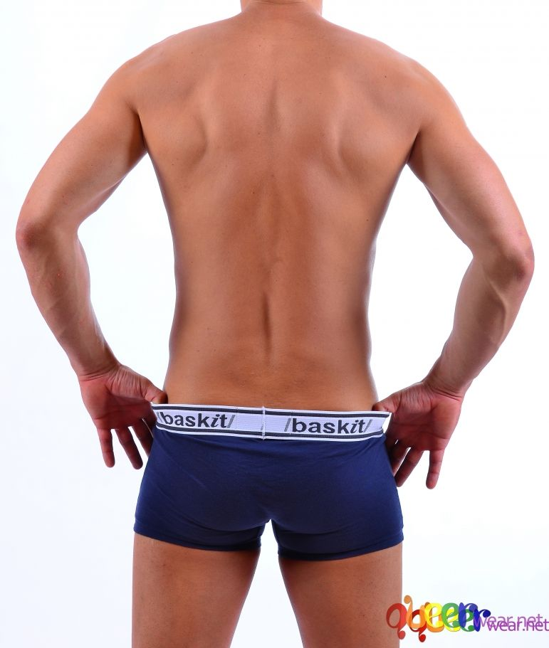 Light Low-Rise Trunks Blue 3