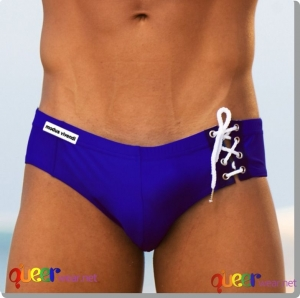 Cord Swimbrief Blue 14