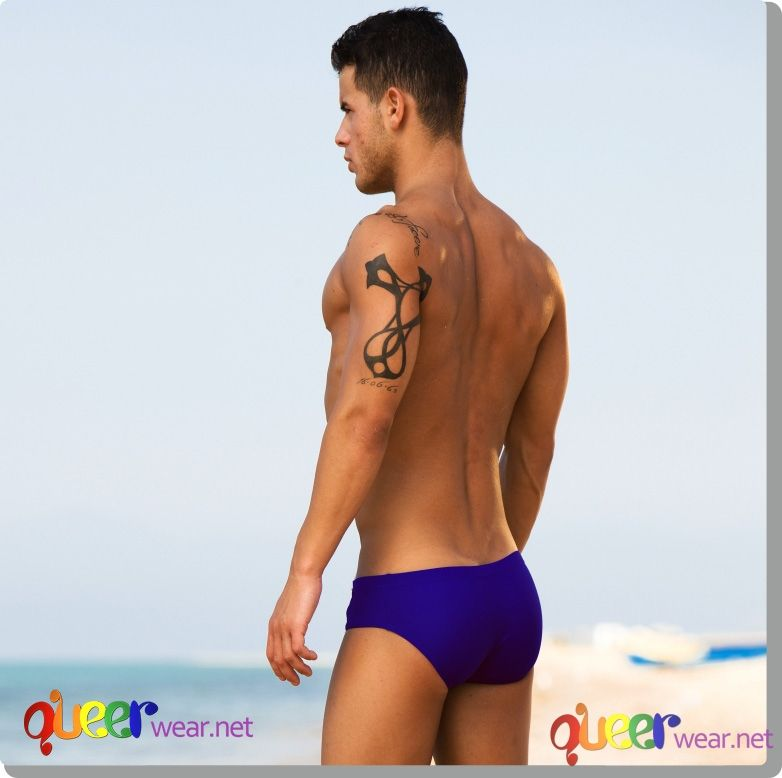 Cord Swimbrief Blue 15