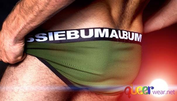 Army Green Canary Brief aussieBum 4