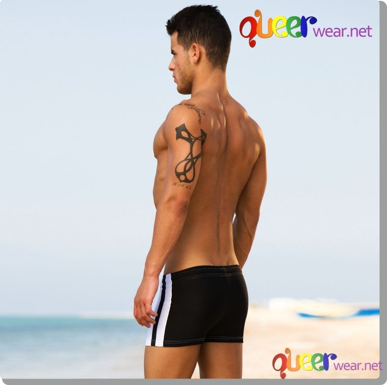 Swimwear boxer by Modus Vivendi with color back 2