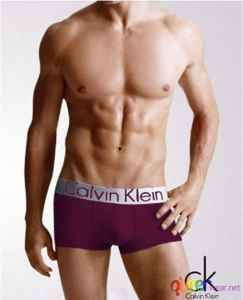 boxer briefs Calvin Klein Steel Collection purple 1