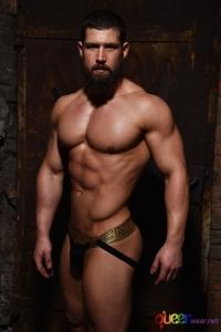 Jockstrap with gold waistband by Modus Vivendi 5