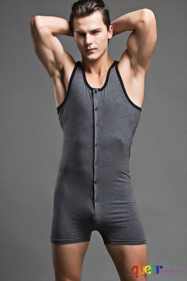 Мъжко боди Bodysuit (L) 2