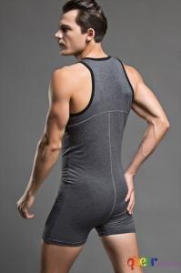 Мъжко боди Bodysuit (L) 4