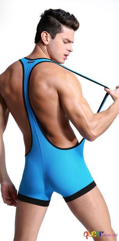 Men Body suit Patchwork 4
