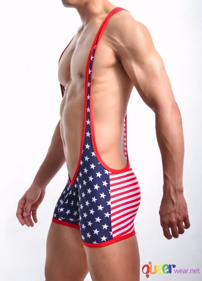 Men Body suit Patchwork 7