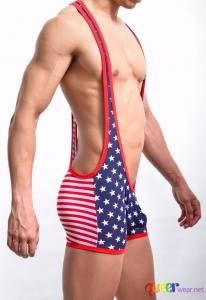 Men Body suit Patchwork 8