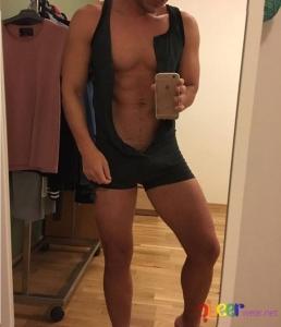 Мъжко боди Bodysuit (L) 6
