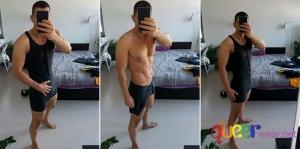 Мъжко боди Bodysuit (L) 7
