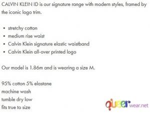 Hip Briefs - Calvin Klein ID  5