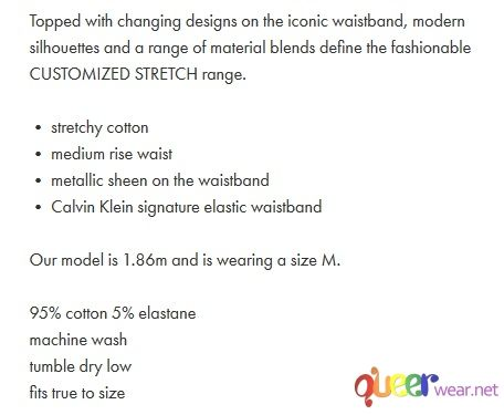 TRUNK  Customized Stretch - Calvin Klein 7