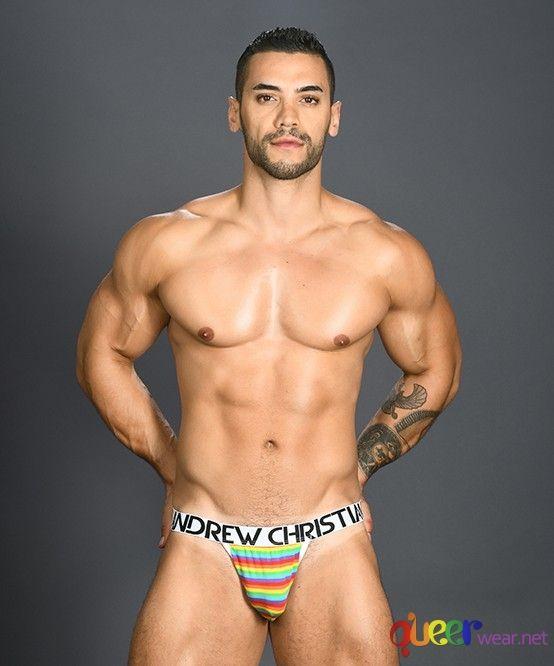 Pride Rainbow Stripe Jock 1
