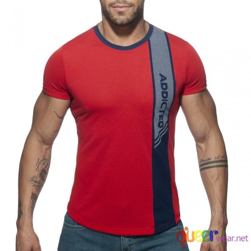 Vertical Stripe T-Shirt 1