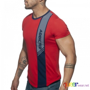 Vertical Stripe T-Shirt 2