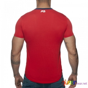 Vertical Stripe T-Shirt 3