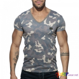 Washed Camo T-Shirt Addicted 1