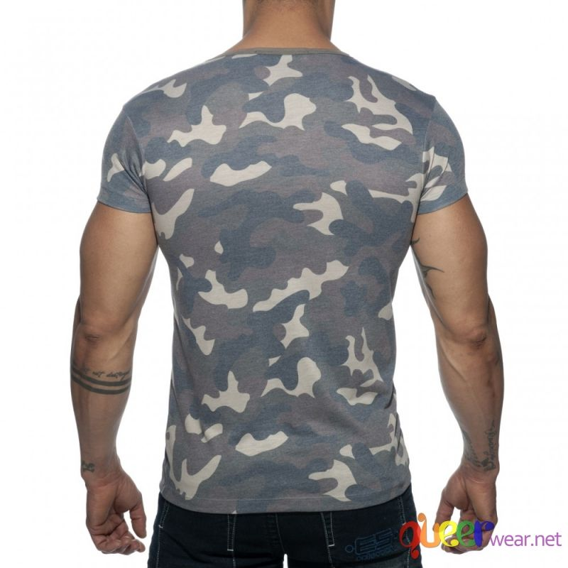 Washed Camo T-Shirt Addicted 2