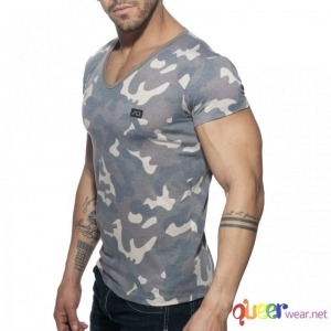 Washed Camo T-Shirt Addicted 3