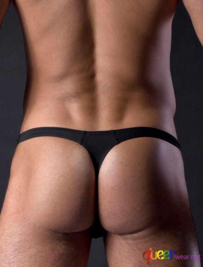 Black Bikini Brief Thongs 5