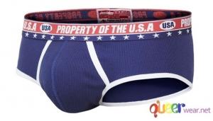 Briefs Patriot USA blue 2