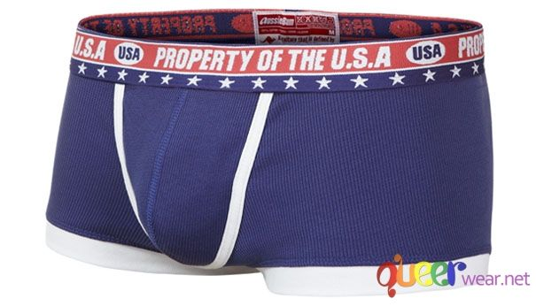 blue boxer briefs USA Patriot 2