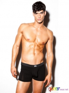 Classic black briefs from Cotton Pouch Collection of N2N Bodywear 1