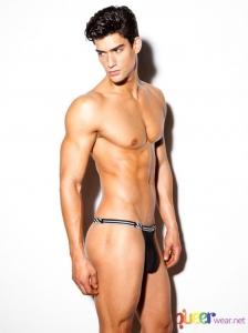 Black Air G Thongs from N2n Bodywear 1