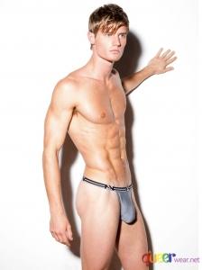 Grey Air G Thongs from N2n Bodywear 1
