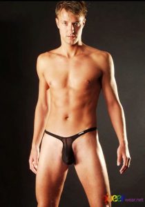 Black Bikini Brief Thongs 2