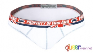 White Pure English Property Briefs by aussieBum 2