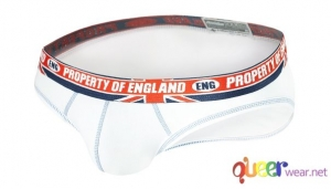 White Pure English Property Briefs by aussieBum 3