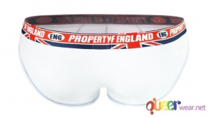 White Pure English Property Briefs by aussieBum 4