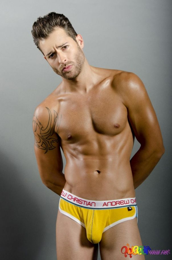 Limited Edition RetroPop yellow Brief by Andrew Christian  6
